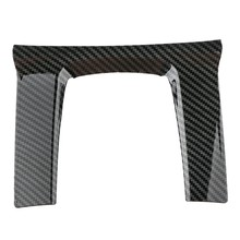 Carbon Fiberinner Style Gear Shift Frame Cover Trim for Honda Civic 2016-2019(China)