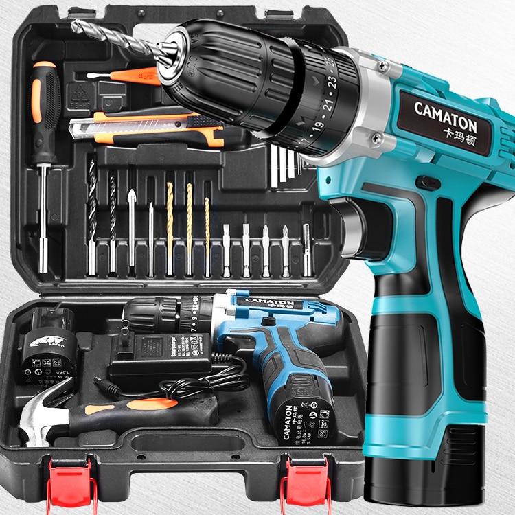 Power Tool Case Electrician Multifunction Portable Electric Drill Repair Tool Professional Storage Box Box Tool Box Set DA60GJX