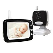 "Lullaby 3.5"" LCD Screen Digital Video Baby Monitor 2 Way Talk Security Wireless Baby Camera Night Vision Electronic Babysitter"