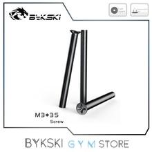 Bykski Mounting Screws For Water Cooling Radiator, M3 35mm 30mm 6mm Length Optional, 12Pcs/Lot, M3*35,M3*30,M3*6