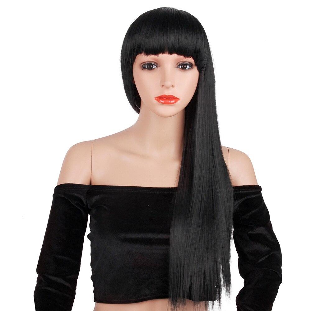de cabelo cosplay resistente ao calor peruca sintética