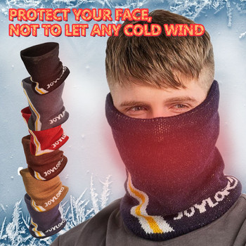 Winter Warm Plush Mask Neck Ear Protection Outdoor Cold Thick Scarf Windbreak Hat Cycling Skii Bandana Riding Headband Masque image