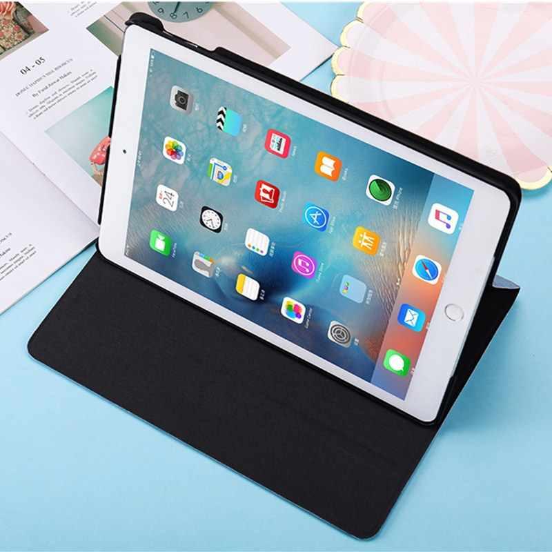 Тонкий чехол для iPad 2018 чехол 9,7 2017 принципиально чехол для iPad Air 1 Air 2 iPad 2/3/4 чехол для iPad mini 1 2 3 4 5 Планшеты Жесткие ПК-Чехлы