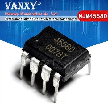 20PCS NJM4558D DIP8 NJM4558 DIP JRC4558D JRC4558 new and original IC - sale item Active Components