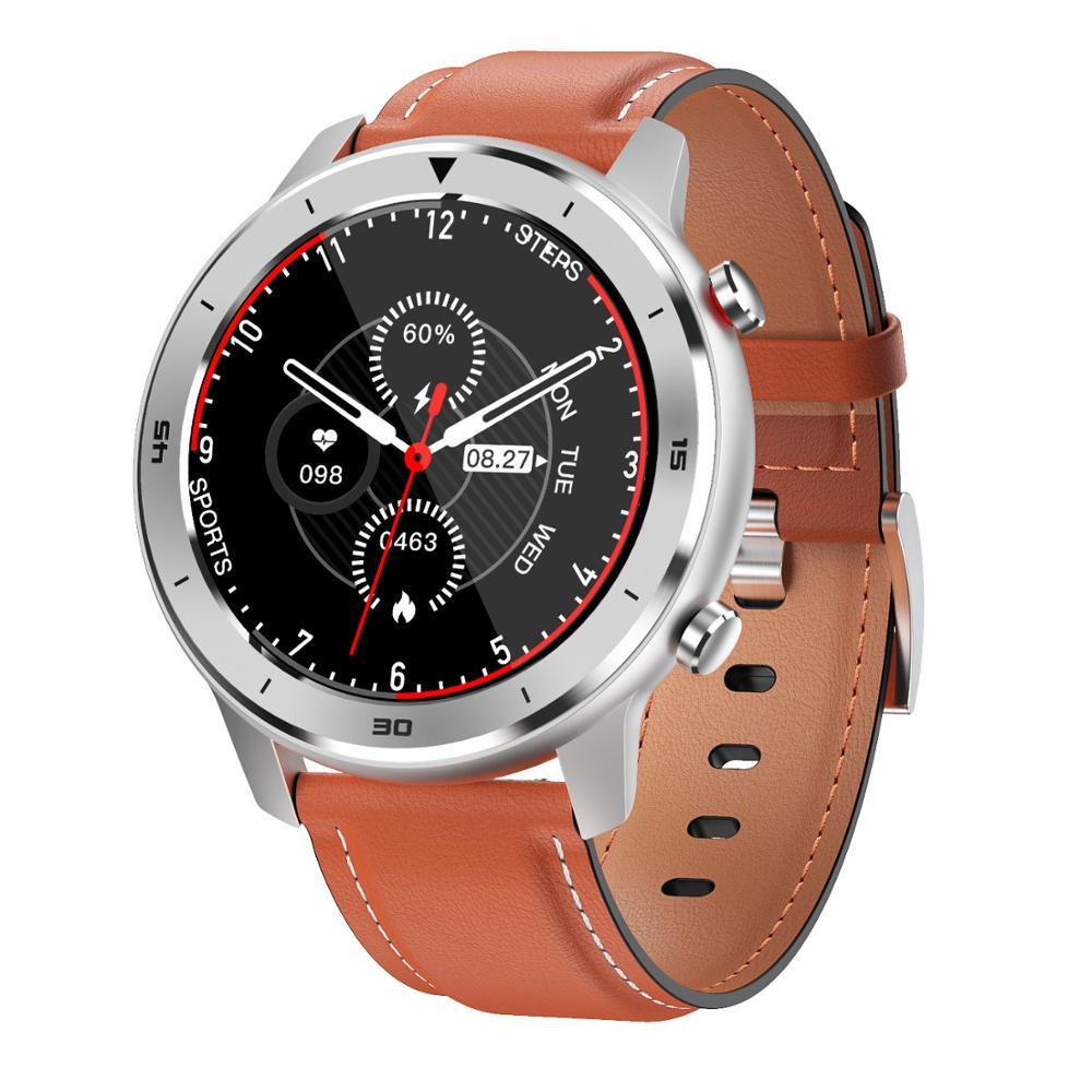 LEMFO DT78 Smart Watch Men IP68 Waterproof 1.3 Inch Full Round Touch Screen Heart Rate Blood Pressure Oxygen Monitor Smartwatch
