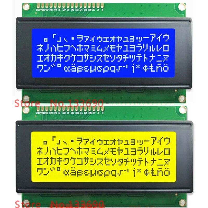 Плата ЖК-дисплея 5 в 2004 20X4 2004A 20X4 синий или желтый экран ЖК-дисплей 2004 дисплей LCM модуль для 3D-принтера IIC I2C адаптер