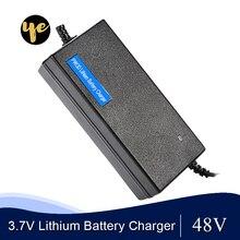 3,7 в, литий ионный аккумулятор, зарядное устройство 54,6 в, 58,8 в, 2 А, электрический велосипед для 13 S, 14 S, 48 В, литий ионный аккумулятор, зарядное устройство для скутера, автомобиля