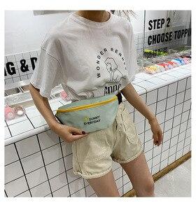 Image 5 - JIULIN Dei Bagagli sacchetto di stoffa Sacchetto obliquo Signora Baitieins Estate Xiaoqing moda alla moda del seno sacchetto di 2019