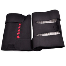 Hot 1 Pair Tourmaline Health Care Magnetic Self-heating Knee Pads Fitness Sports Knee Support DO2