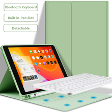 For iPad 9 7 2017 2018 2019 10 2 5th 6th 7th Generation Bluetooth Keyboard Case for iPad Air 1 2 3 Pro 9 7 10 5 11 Cover cheap With Keyboard 9 7 CN(Origin) Solid For Apple iPad waterproof Drop resistance Anti-Dust Soft Faux Leather For iPad Air 9 7 case