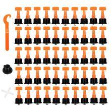 50 шт./компл. уровень танкетке расшивки для решетки ПВХ обои для выравнивания плитки Системы локатор прокладки плоскогубцы мини плитка уравнитель кронштейн