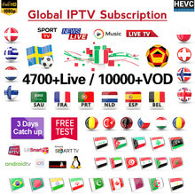 IPTV 1 Year France Arabic Italy Spain Portugal IP TV Subscription DATOO M3U
