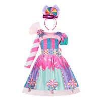 Vestidos de algodón sin mangas para niñas pequeñas, piruleta de Color caramelo, regalos de cumpleaños, disfraces bonitos de verano
