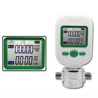 MF5706 25L/MIN Gas Mass Flow Meters Digital Gas Flow Meters Compressed Air Digital Display Tester Flowmeter MF5706 25L