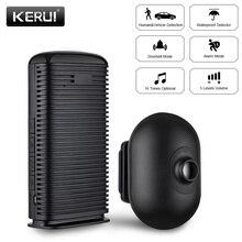 KERUI alarma de Casa inalámbrica Detector de movimiento PIR impermeable, sistema de alarma de seguridad, Sensor antirrobo para garaje