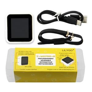 Image 5 - LILYGO®TTGO T Watch بدون شاشة تعمل باللمس الإصدار TTP223 زر اللمس للبرمجة يمكن ارتداؤها التفاعل البيئي ESP32