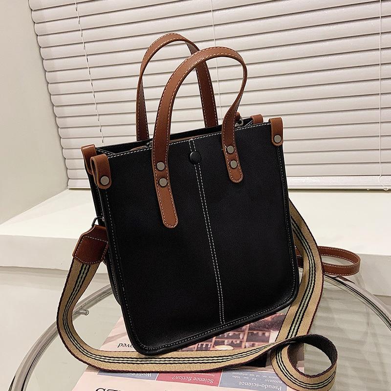 с доставкой High Capacity Shoulder Bags 2021 Winter Totes Lady Hand Bag Women's Handbags and Purses Female Good Quality Bags
