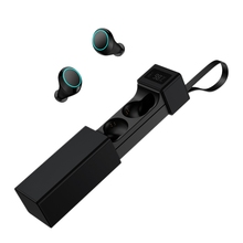 цена на HiFi Bluetooth 5.0 Headset IPX7 Sweatproof with Display Wireless Binaural Press Charging Room Earbud Headphones
