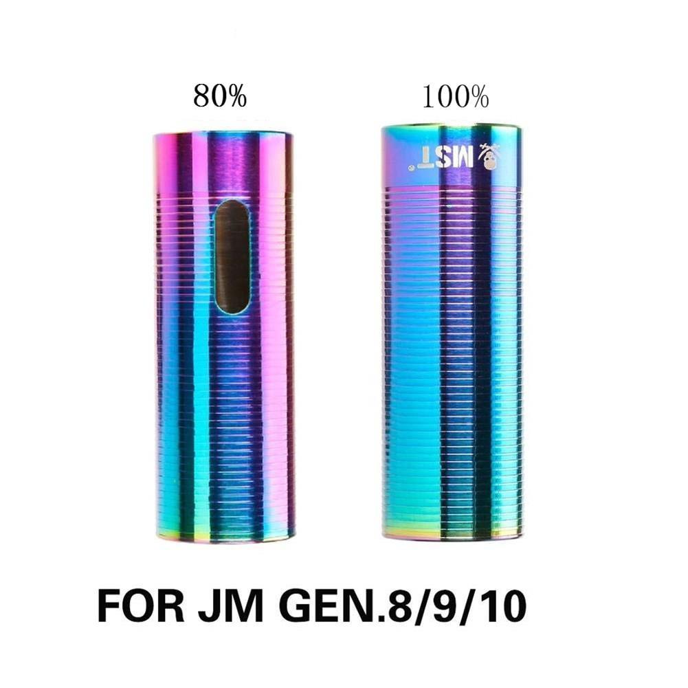 Acero inoxidable 80 a 100 por ciento Gas volumen cilindro de aire para JM Gen.8 M4A1/JM Gen.9 M4A1/JM Gen.10 ACR agua Gel Beads Blaster Espray de agua a alta presión de 140 Bar tierra Blaster Lance Turbo boquilla para Karcher K1 K2 K3 K4 K5 K6 K7 de alta presión de lavado