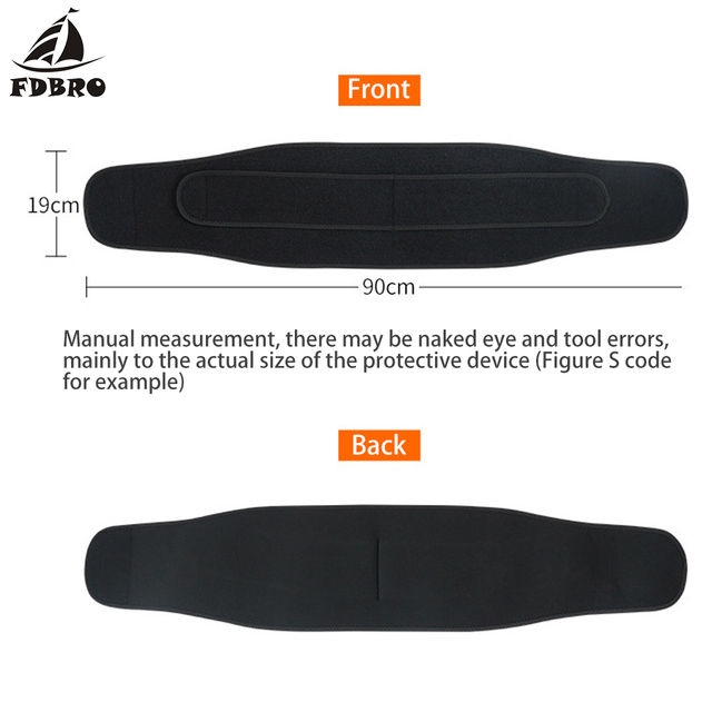 FDBRO Waist Support Corset Sport Breathable Adjustable Back Belt Slimming Boxing Body Protective Gear Waist Trimmer Sweat Belt 1