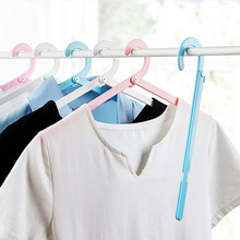 Hanger Household-Clothes Folding Travel Plastic Windproof