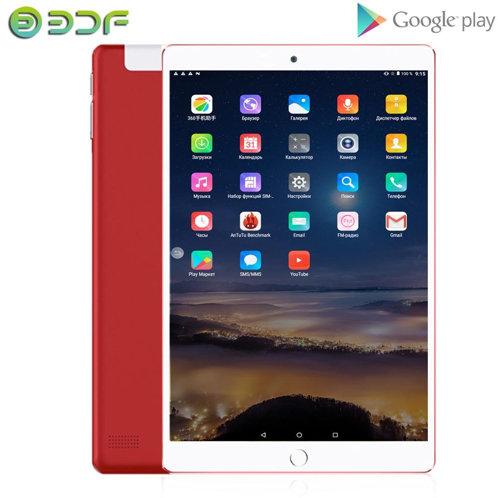 10 Inch Android 7.0 Quad Core 1GB RAM 32GB ROM Dual SIM 3G Phone Call Tab Bluetooth WiFi Tablets Pc