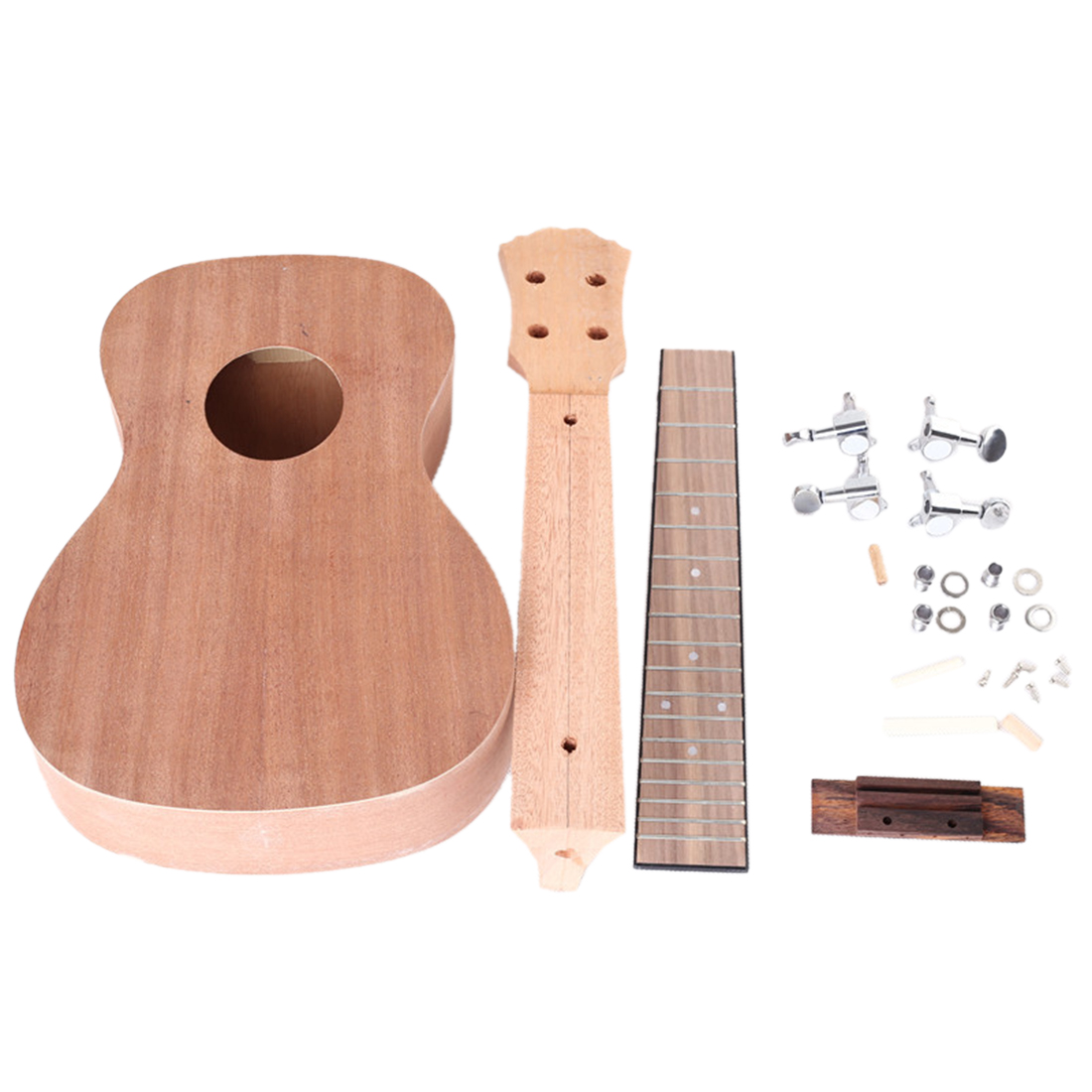 23 pouces bricolage couleur dessin acajou classique ukulélé Instruments de musique éducatif Instrument de musique jouet pour enfant cadeau