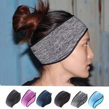 Windproof Ear Protection Headband,Fleece Warm Yoga Hair Band,Winter Sport Sweatband for Running Cycling,6Colors Unisex Headband