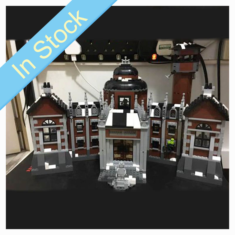 PDF instruction 07055 1743Pcs Batman DC Comics Arkham Asylum Building Blocks Bricks child Toys Christmas gifts Super Hero <font><b>70912</b></font> image