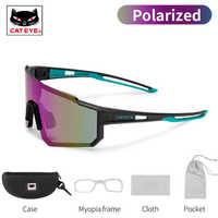 CATEYE-gafas de sol deportivas para hombre y mujer, gafas de sol polarizadas fotocromáticas para ciclismo de montaña, gafas de senderismo