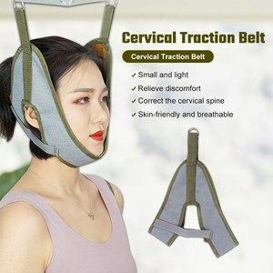 Шейный ремень для растяжки шеи, ремешок для восстановления позвоночника, забота о здоровье, растягивающиеся фиксирующие ремни для шеи для взрослых и детей|Шейный воротник|   | АлиЭкспресс