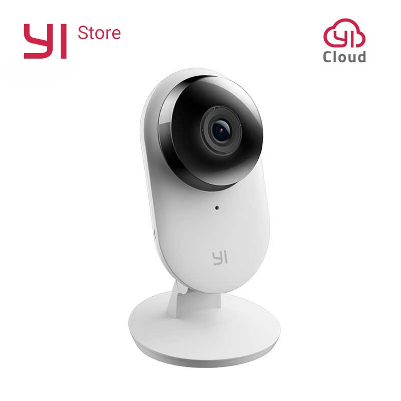 Yi Home Camera 2 1080P FHD Smart Camera Sicurezza domestica Mini webcam Wireless cctv cam Visione notturna US&EU Edition Android IOS CMOS