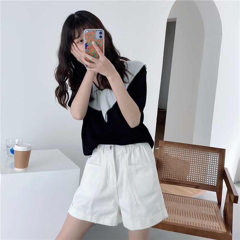 Summer 2020 Popular Solid Color Cool Casual Comfortable Leggings Wear Small Shorts  919