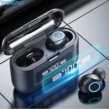 Wireless Bluetooth Earphones with Microphones Touch Control