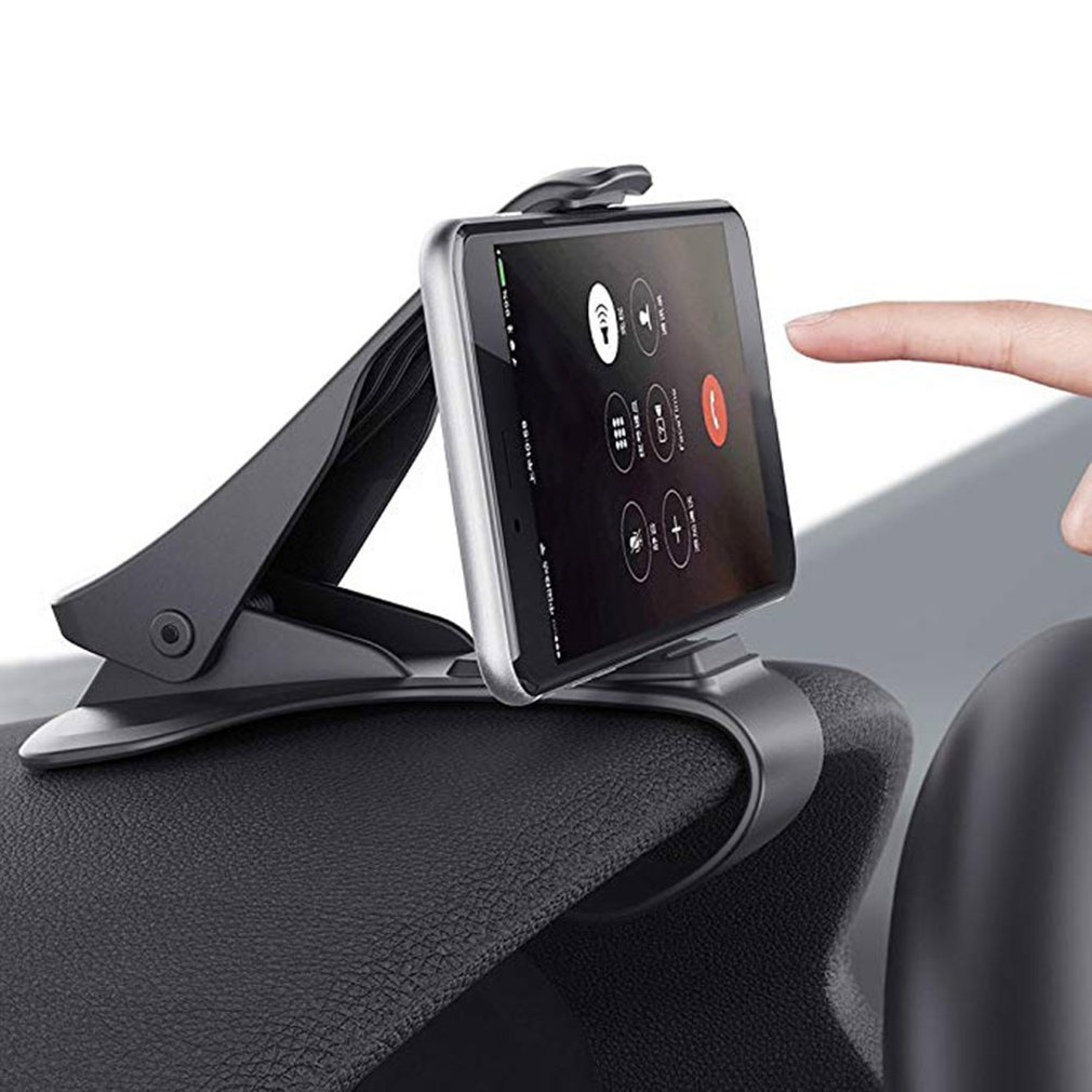 Car Phone Holder Dashboard Mount Universal Cradle Cellphone Clip GPS Bracket Mobile Phone Holder Stand For Phone In Car HUD