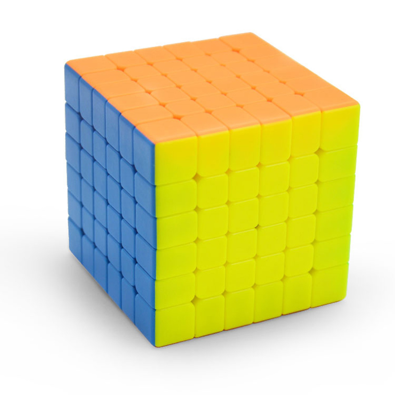 Moyu 6x6x6 6 5cm Professional Magicco Cube Speed Neo Cube Cubo Magico Sticker Adult Anti stress Puzzle Gifts Toys For Children in Magic Cubes from Toys Hobbies