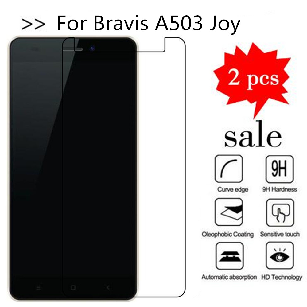 Tempered Glass For Bravis A503 Joy Screen Protector Premiun Phone Protection Film Case For Bravis A503 Joy Tempered Glass