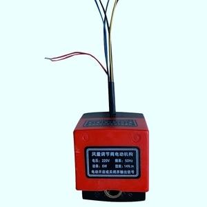 Image 4 - Soupape damortissement dair Ac220V actionneur damortisseur électrique de conduit électrique pour vannes de Ventilation avec rétroaction de Signal