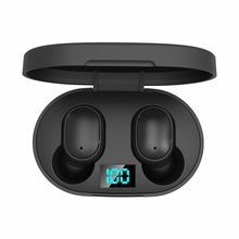 TWS Wireless Mini Earpohone Airdots จอแสดงผล Gaming หูฟังพร้อมไมโครโฟนสำหรับเล่นเกมอุปกรณ์เสริมหูฟังตัดเสียงรบกวน