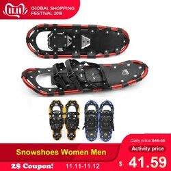 Outdoor Sneeuwschoenen Vrouwen Mannen met Verstelbare Bindingen Carrying Tote Tas Praktische Duurzaam Voor Vrouwen Mannen 25/27/29 inch 3 Kleuren