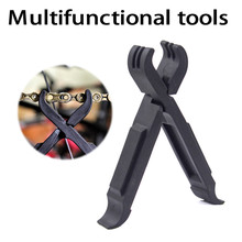 Missing Link Lever bike Chain tools Tire clever Lever Repair Magic Buckle Repair Removal Tool Cycling bicycle Tool bicycle master link plier valve tool tire lever missing link box pack pliers 4 in 1 multi function tools cnc aluminum alloy s24