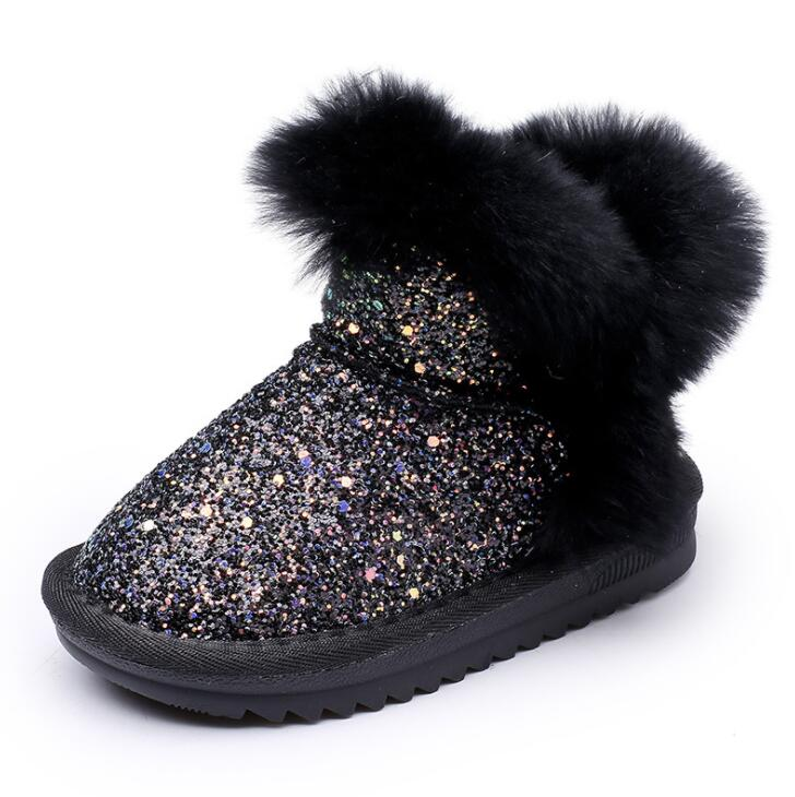 Bling Sequin Snow Warm Boots 5