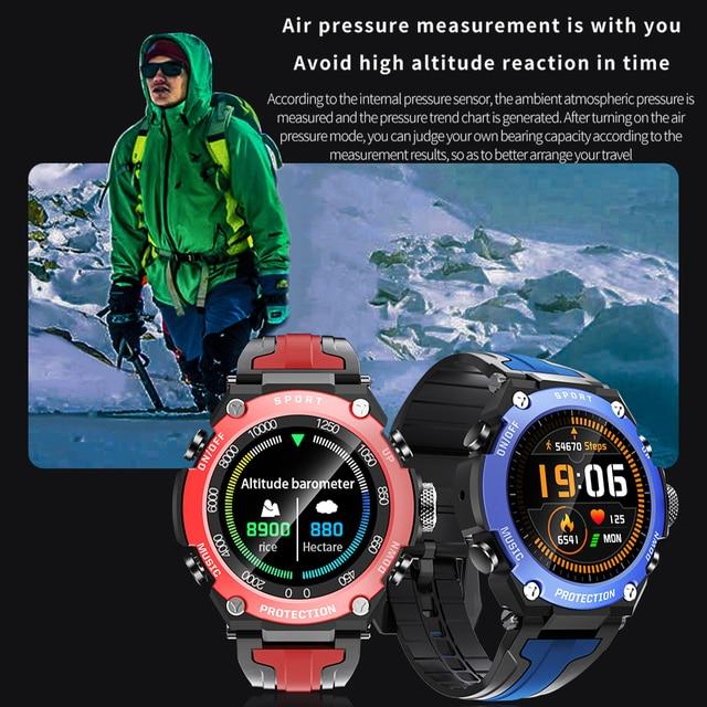New Smart watch Men Music Play IP68 Waterproof 1.3 inch Sport Digital Men Watch,Compass & weather Smartwatch For ios Android 4