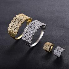 Middle East Dubai luxury suit bracelet ring ladies diamond European and American high-end design temperament female bracelet par kay brellend east end angel