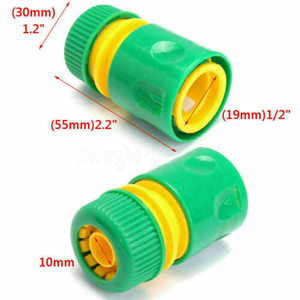 """Image 3 - 1/3/10pcs 5/8"""" 1/2"""" 3/4"""" Barbed Irrigation Hose Connector Quick Tap Water Adapter Fast Coupling Adapter Drip Tape Garden Tool"""