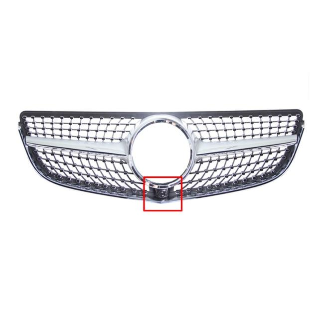Pare-chocs avant en diamant E200 E300 A207 C207   Pour la classe E Coupe en diamant, Grille calandre en ABS E200 E300 A207 C207 Facelfit 2013-15