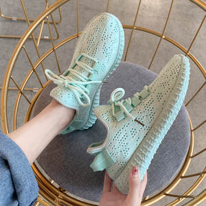Women Sneakers Light Casual-Shoes Lace-Up Classic Shoe-1h20 Mesh-Air Comfort Candy-Color