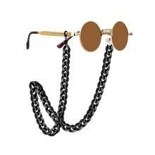 Flatfoosie yeni leopar akrilik güneş gözlüğü zinciri kadın okuma gözlüğü asılı boyun zinciri Largand gözlük zinciri gözlük askısı
