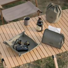 Naturehike Outdoor Camping Vouwen Toiletpapier Tissue Case Houder Draagbare Reizen Servet Opbergtas Canvas Duurzaam Doos