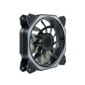 Ventilador de refrigeração do refrigerador da cpu de 120mm no tel conduziu 8 almofadas de amortecimento o ventilador do dissipador de calor do ruído mais baixo, rgb